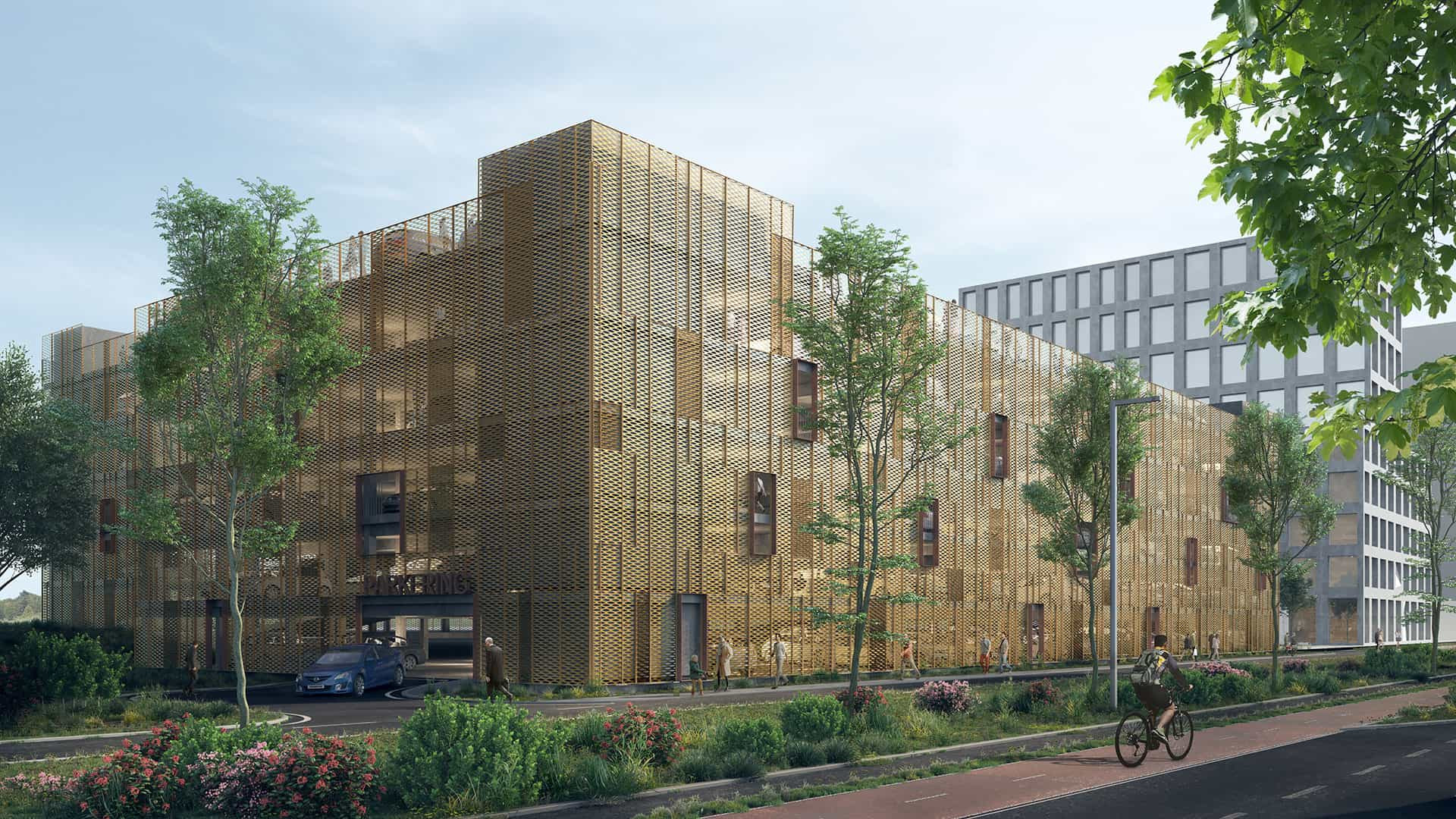 NCC Afleverer Parkeringshus Opført Efter Eget Koncept I Ny Bydel