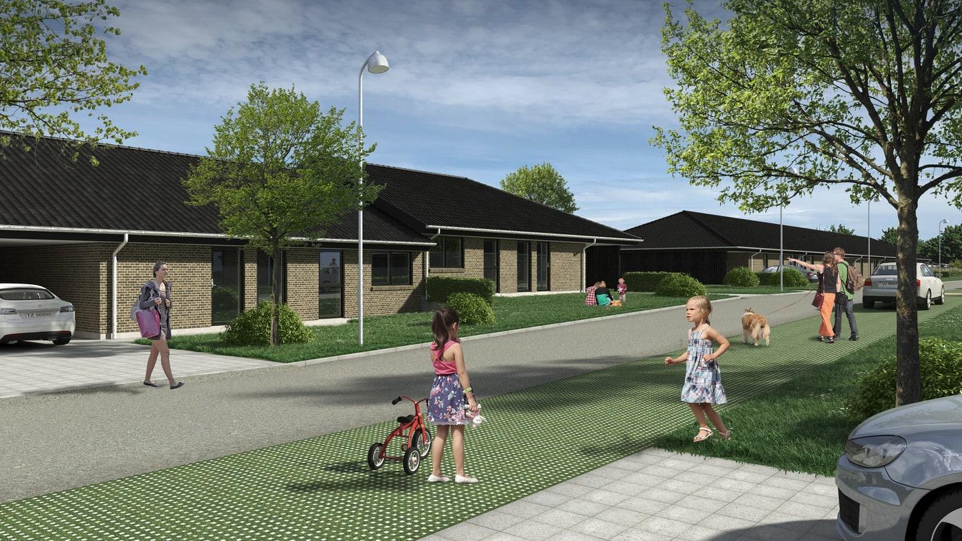 Maycon udvikler nye rækkehuse i populært område