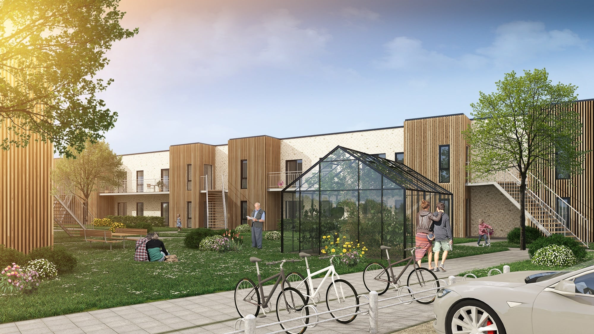 Nyt og eftertragtet boligområde i Fredericia klar til udlejning